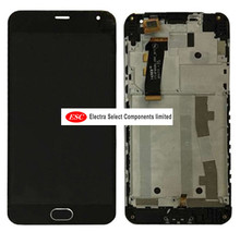 LCD Display + Touch Digitizer Screen glass   FOR Meizu m2 M2 mini Meilan 2 with frame +tools  free shipping