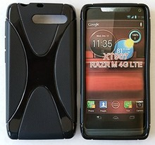 Soft Gel Skin X-Line Wave TPU Case Cover for  Motorola Razr I XT890,free shipping