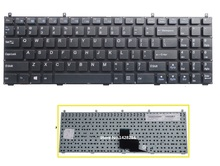 New laptop US Keyboard For Clevo P150 P150HM P170HM P151EM W150HRM W170ER Keyboard without frame