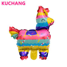 50pcs Lot Mini Pinata Foil Balloons Christmas Firecracker Game Chinese Happy New Year Birthday Party Decorations Gifts