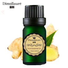 Dimollaure Ginger essential oil Aromatherapy fragrance essential oil Helpful to colds Hair care Foot care bath Spa Massage oil(China)