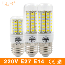 bombillas LED Lamp 220v light bulb E27 E14 Replace ampoule lampada Led Bulb SMD 5730 24/36/48/56/69LEDs Fluorescent Lamps