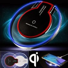 Buy UGI Fast Qi Wireless Charger Crystal Charging Pad Mat Dock Apple iPhone 8 Plus X Samsung Galaxy S8 Plus S7 Note 8 for $3.89 in AliExpress store