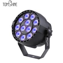 Auto Sound Active DMX512 Master-slave 8 Channels UV LED Stage Light LED Par DJ Equipments Ultraviolet Led Stage Par Light Lmap(China)