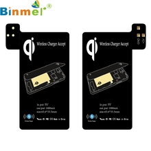 FASHION Qi Wireless Charging Receiver Support Smart Case for Samsung Galaxy S5 i9600 TOP QUALITY Drop Ship(China)
