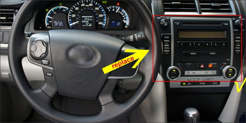 For Toyota Camry ( Europe & America ) 2012-8
