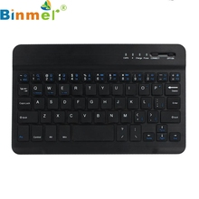Top Quality 59 Keys Ultra Slim Aluminum Wireless Bluetooth Keyboard For IOS Android Windows PC Water-proof Dust-proof MAY23