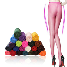 Buy Spring Summer Women Velet Thin Tights High Waist Pantyhose Plus Size Candy Color Female Tights Hosiery Meias Collant Femme