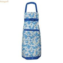 Saingace Womens Kitchen Apron Restaurant Bib Cooking Aprons with Pockets quality first