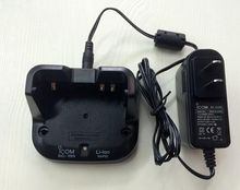 NEW Radio two way battery charger for BC-193 BC193 For Li battery for ICOM for IC-V80 IC V80E IC F27SR 2 way radio