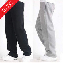 The spring and autumn male sport leisure pants feet sweat youth basket ball students. Add fertilizer to increase loose jeans