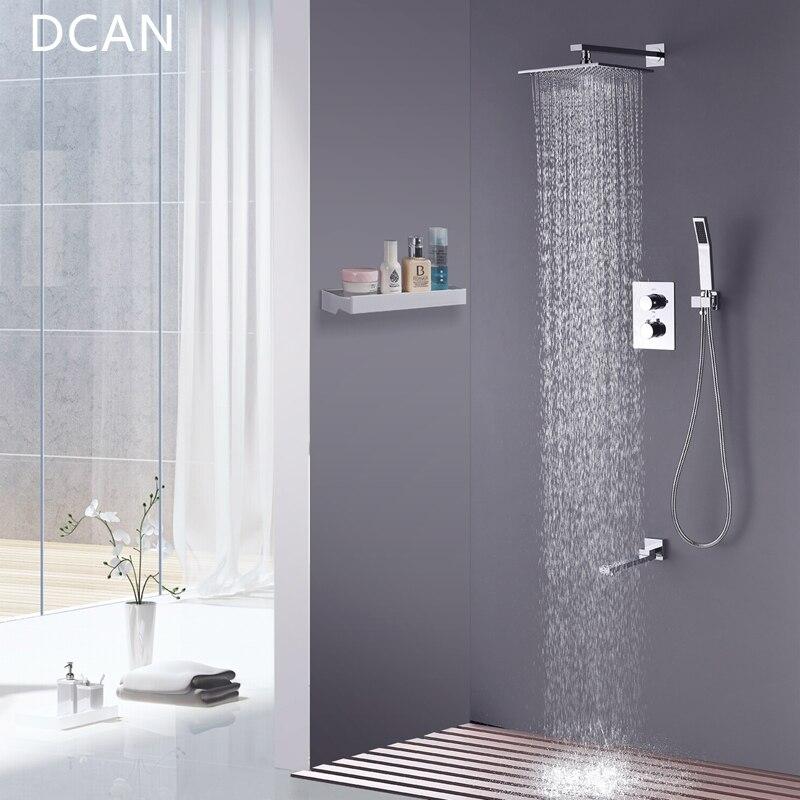 GAPPO bath shower faucet Waterfall wall shower set mixer tap set ...
