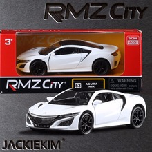 1:36 Scale Honda Acura NSX Sport Car/Education Model/Classical Pull back Diecast Metal toy/For Collection Gift