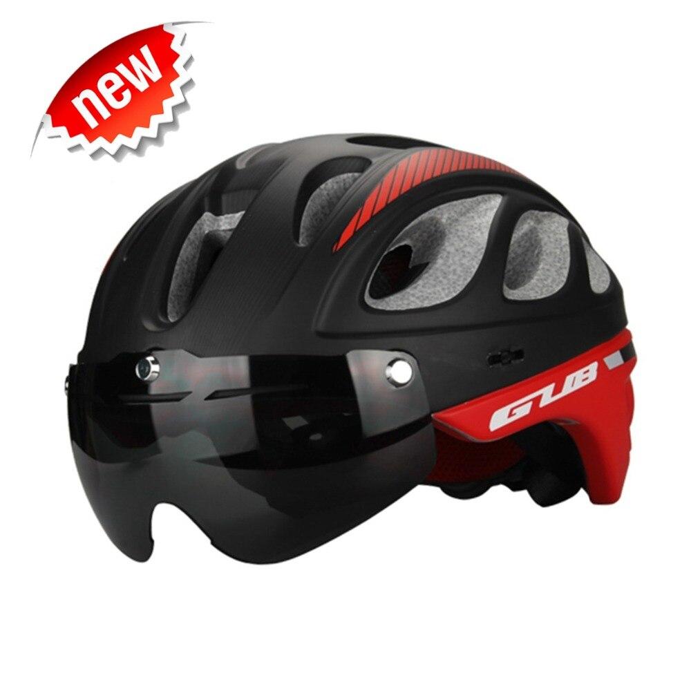 GUB 2016 MTB Road Cycling Helmet Glasses Cover Bicicleta Capacete Bike Helmet Men Bicycle Helmets Goggles Ciclismo Casco 57-61cm<br>