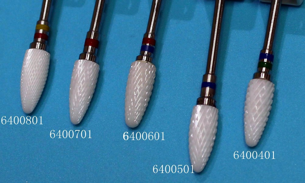 300pcs/lot  6400401~6400801 Ceramic Nail Files<br><br>Aliexpress