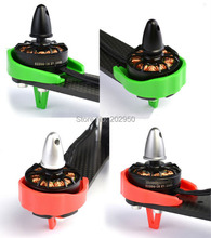 4pcs/lot ZMR250 QAV250 Black Red Green Motor Plastic Cover Protection For Multicopter Quadcopter 2204 2206 2208 22 Series Motors