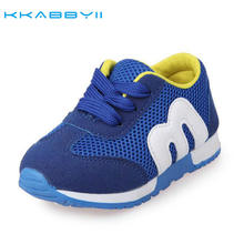 Buy KKABBYII New Spring Children Shoes Girls Boys Sport Shoes Antislip Soft Bottom Kids Shoes Comfortable Breathable sneakers for $6.21 in AliExpress store