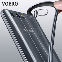 VOERO Luxury TPU Soft Slim Protect shell Phone Case For Huawei Honor 9 Electroplate glossy Cover For Huawei Honor 9 Cases(China)