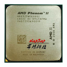 AMD Phenom II X4 925 95W 2.8 GHz Quad-Core CPU Processor HDX925WFK4DGI Socket AM3(China)