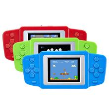 2.5 inch LCD Handheld Game Console Video Game 268+ Different Retro Games 3 color for choose Best Child's gift toy(China)