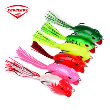 PRO BEROS 1pcs High Quality Octopus Squid Jig Fishing Lure 6cm/16g Available Fishing Bait with Treble Hook Tackle(China)