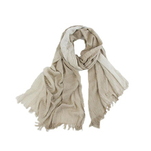 Senza Fretta Winter Scarf Women Cotton Linen Voile Floral Pattern Thin Scarfs Vintage Shawl Scarves 2017 Fashion New PSH6391(China)