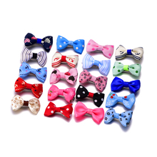 2017 New  Pet Hair Bows Clip Boy and Girl colors Pet Dog clips Cute Dog Hair Bows Dogs Ang Cat Grooming Product