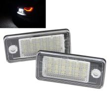 High performance LED license plate light for Audi A3 Cabriolet A4 /S4 B6(8E/8H) A4 /S4 B7(8E/8H) A6 Super bright illumination