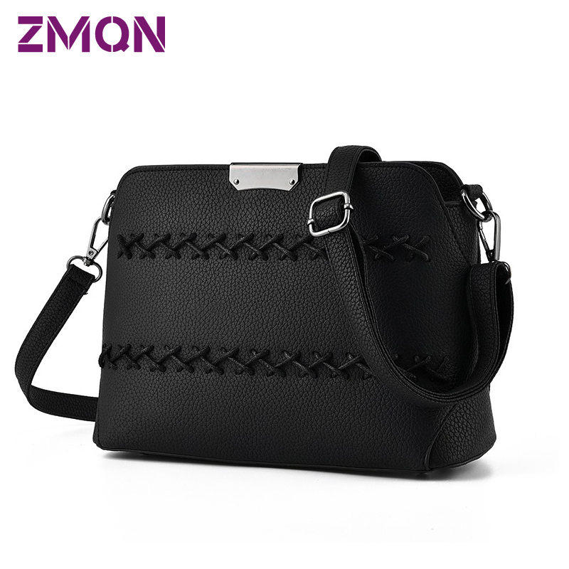 Women Messenger Bag Black Casual Cross Body Crossbody Bags Ladies Solid Weave For Women Bag Small Flap High Quality Shoulder 518<br><br>Aliexpress