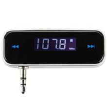 Wireless 3.5mm Jack Digital LCD Display Portable Car FM Transmitter for iPod / iPhone 3G / 3GS / 4S / MP3 / MP4 Mobile Phones