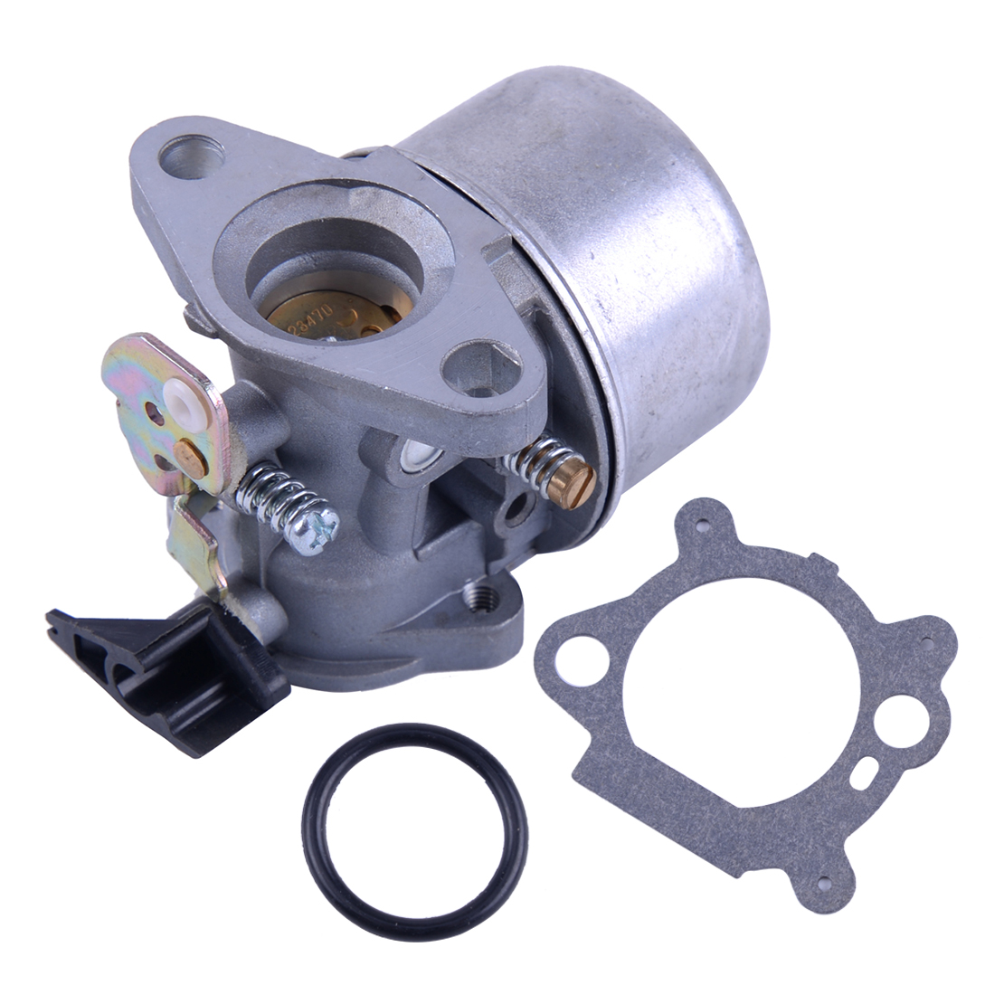 Hvlystory Metal Carburetor with Rubber Ring for Briggs and Stratton Quantum Motor #498965