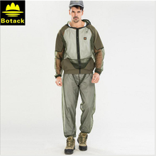 Botack camping clothing set outdoor Mosquito prevention Combinations , fishing outdoor cloth set Mosquito prevent suit