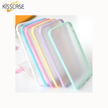 KISSCASE For Iphone 5c Only$1.28! Fashion Candy Colors Edge Hybrid PC+TPU Slim Case For iPhone 5C Cover Phone Protection Shell