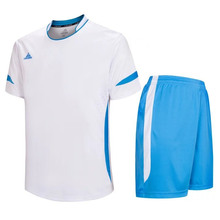 2016 2017 channel futsal Comfortable Breathable white blank soccer jerseys maillots de Foot Training suit For Men LD=5015(China)