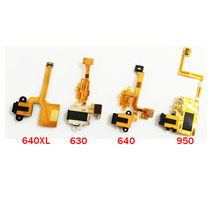 10pcs/lot,Headphone Audio Jack Headset Flex Cable Ribbon Replacement For Nokia Lumia 630 950 640 640XL 1520(China)