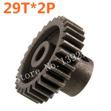 2Pcs 11189 Motor Gear 29T Metal HSP Spare Parts For 1/10 Scale Models EP RC Remote Control Car Parts Buggy XSTR Hobby Baja(China)
