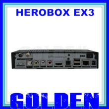 4pcs dhl Herobox ex3 HD DVB-S2/T2/C Tuner same as cloud ibox 3 se/zgemma star H2 herobox ex3 HD satellite decoder