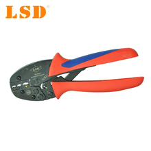 High quality Crimping tool S-03C for crimping 0.5-6mm2 insulated terminals, ratchet crimper, connectors crimp tool(China)
