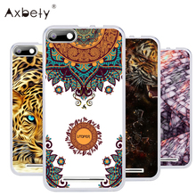coque For BQ Strike BQS 5020 For bq BQS5020 Transparent Silicon Soft TPU Cover Flower lion cat for bq strike 5020 telephone Case
