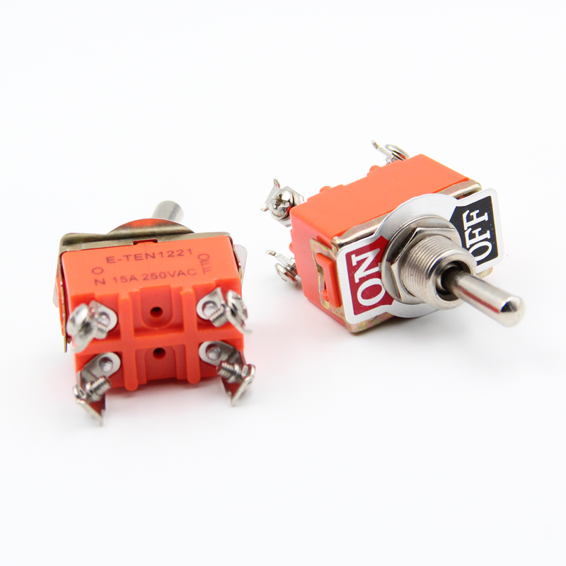 Shaking His Head Switch Is Bending Feet 3 Feet 2 Files With A Screw Tooth Pattern Rocker Toggle Switch Button Switch Electrical Plug Accessories & Parts