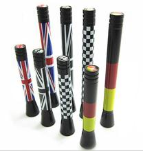 10pcs Car styling 107mm Union Jack England Flag Germay Flag Carbon Fiber Grid Car Antenna [77mm available] F1 flag