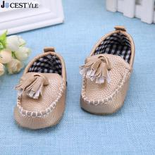 Baby PU Leather Shoes Infant Girl Boy Soft Sole Moccasin Sneakers Kids Baby Tassel Pendant First Walkers Toddler Prewalker Shoes(China)