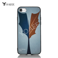 How To Train Your Dragon Fun Art For iPhone 6 6s 7 Plus Case TPU Phone Cases Cover Mobile Protection Decor Gift(China)