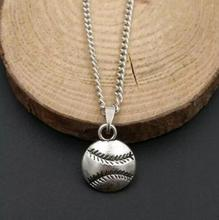 Baseball Softball Chain Vintage Necklaces Pendant Woman Charms Choker Necklace Jewelry Fashion Gifts(China)