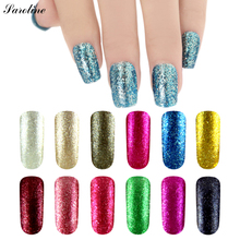 Saroline Long-lasting UV Fingernail Gel Vernis Semi Permanent 7ml Platinum Colorful UV Cheap Gel Shining Nail Gel Polish