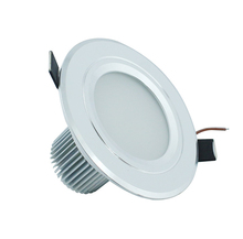 5pcs/lot Recessed LED Downlight 3W 5W 7W 9W 12W AC85-265V Round Kitchen Panel Ceiling Spot Lights Warm White/Cool White