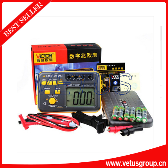 VICTOR VC60B+ New Type digital insulation tester<br>