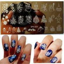 Buy 1Pcs Amazing DIY Halloween Nail Art Ideas Nail Art Stamp Template Image Plate DIY Easy Christmas Nail Art Stamping Tools WJ113 for $1.16 in AliExpress store