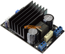 200W Subwoofer DC power supply High power IRS2092+IRFI4019 single sound track D class digital power amplifier board(China)