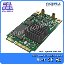Magewell Pro capture mini SDI One channel HD capture card Captures SD/HD/3G-SDI Loopback:SD/HD/3G-SDI loopback(China)